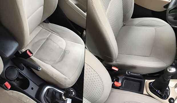 Araç koltuk temizliği hizmetimiz