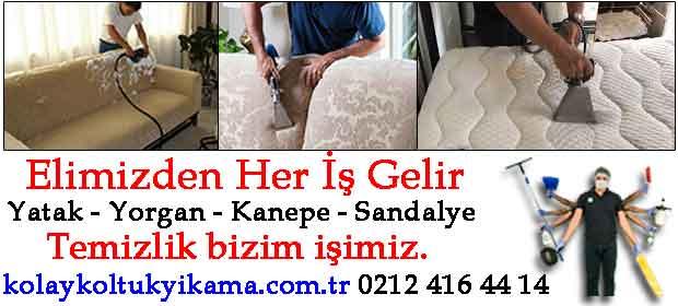 Beşiktaş koltuk temizleme