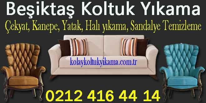 Beşiktaş Koltuk Yıkama