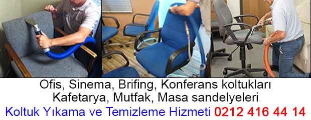 ofis koltuk temizliği